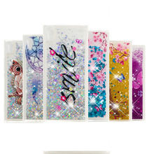 LUCKBUY Glitter Liquid Soft TPU Case For Sony Xperia XA1 Ultra Covers Silicone Phone Back Cover Coque