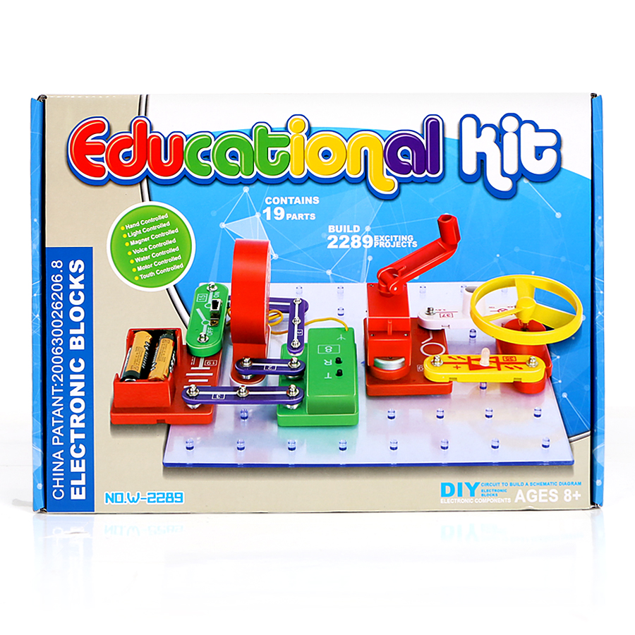 Electronics Discovery Kit 2289 exciting projects Smart Science electronic kit for children educational learning Circuits toys