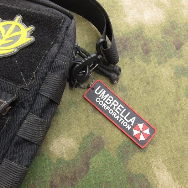 Biohazard Resident Evil Umbrella Corporation Logo Keychain key ring PB862