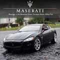 Maserati GranTurism 1:24 scales diecast model metal alloy original car collection for children birthday gift