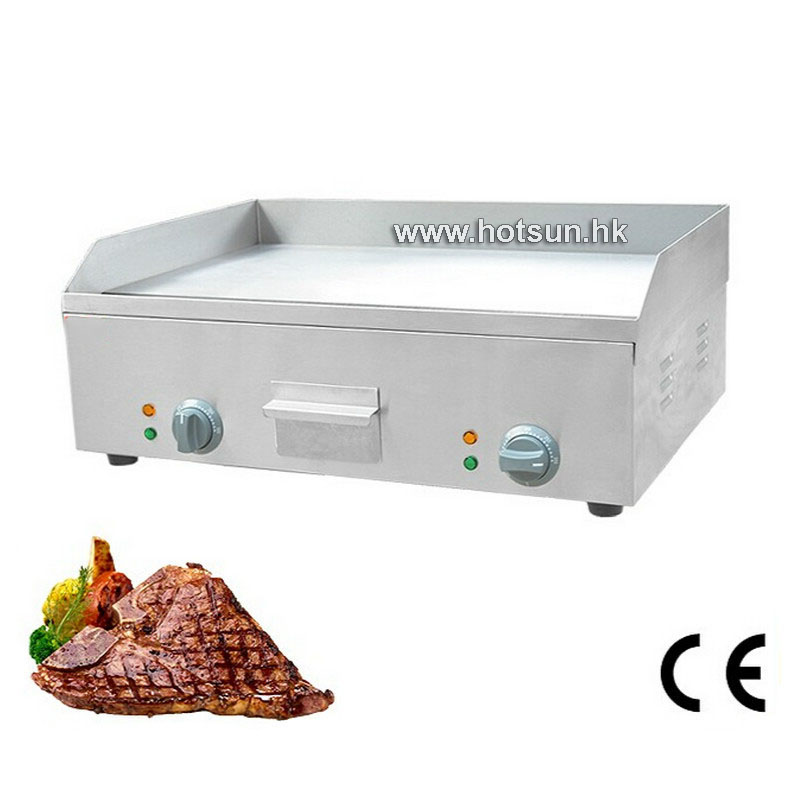 Commercial Electric 220v Countertop Flat Top 25 Heavy Duty Griddle