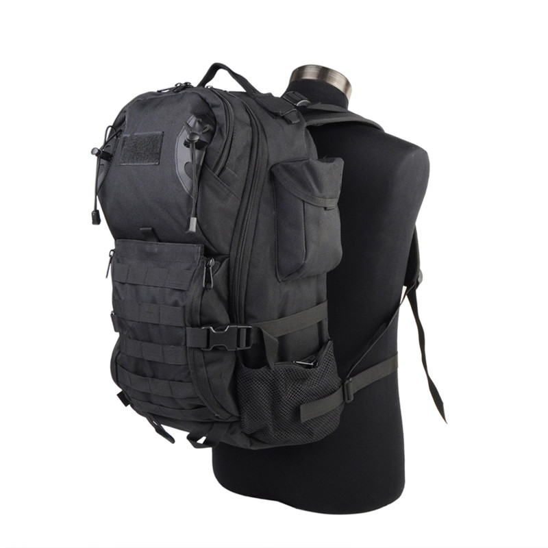 35L 600D Military Assault Pack Tactical Backpack Army Nylon Molle Waterproof Bug Out Bag Outdoor Hiking Camping Hunting Rucksack military tactical outdoor camping backpack army 3 day assault sports 3p waterproof molle bug out backpack rucksack hiking