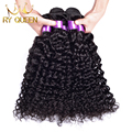 Cheap Peruvian Virgin Hair Water Wave 3Pcs/Lot 7A Unprocessed Virgin Peruvian Curly Hair 100% Human Hair Extensions Tangle Free