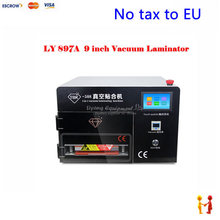 EU Free Taxes LY 897A 5 in1 touch screen 9 inch vacuum OCA laminator with