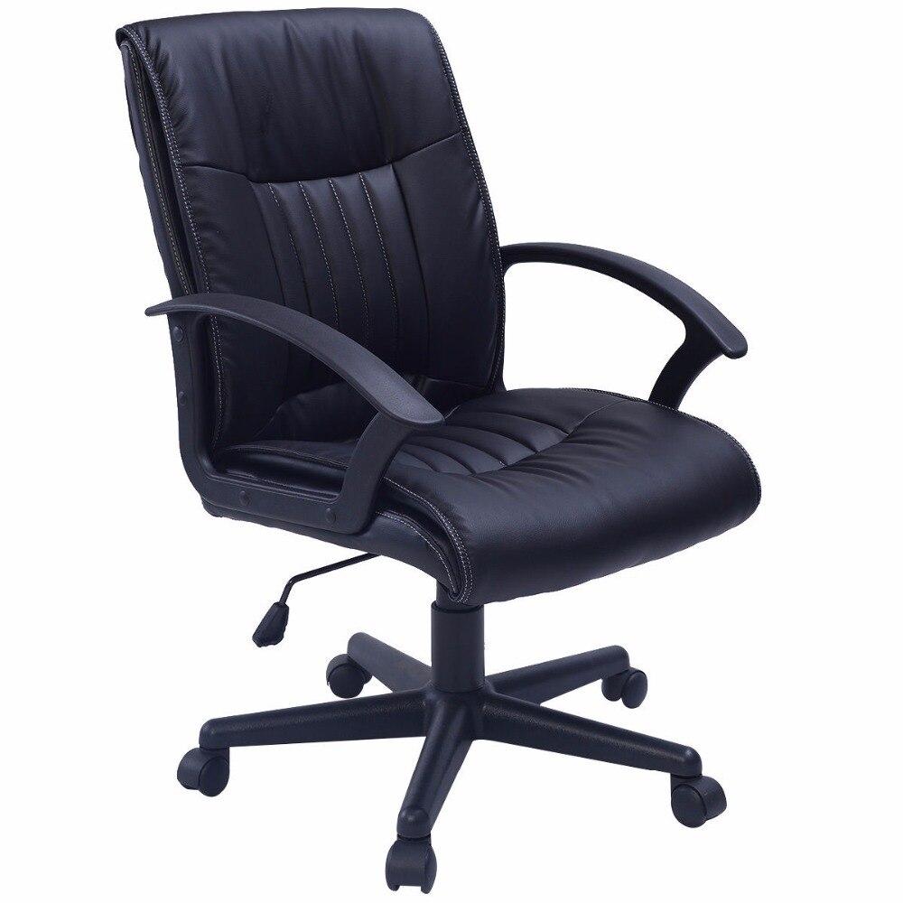 Executive Ergonomic Office Desk Durable Chair Luxury Computer Chair PU Leather  CB10059 240337 ergonomic chair quality pu wheel household office chair computer chair 3d thick cushion high breathable mesh