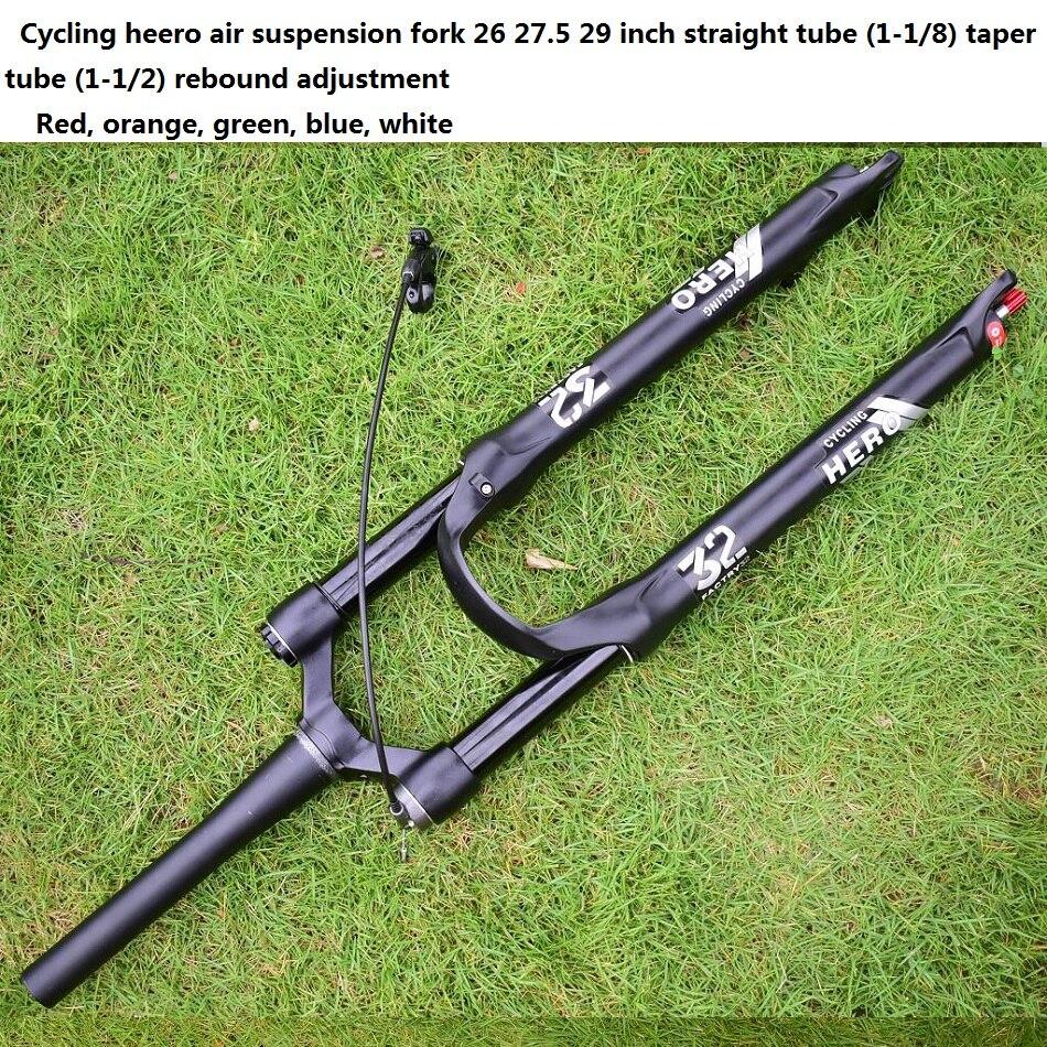 велосипед горный sintesi 707 - Stroke 120MM 32 New Mountain Bike Fork MTB Suspension Bicycle Plug  Air impact 26 27.5 29 Performance over SR SUNTOUR EPIXON