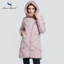 New Winter Bio Down Thick Women Jacket