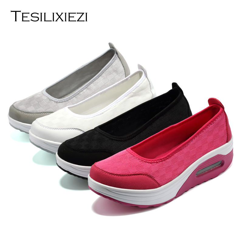 Women Running Shoes Female Sports Shoes Damping Outdoor Running Shoes Breathable Air Cushion Sneakers zapatillas running mujer summer breathable air cushion fly line sports women running shoes shock absorption increase tourism shoes spring female sneakers