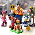 Mickey Mouse Minnie mouse, pluto, goofy margarita figura de la historieta niños de juguetes para los niños