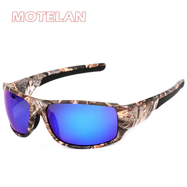 Dos homens Ao Ar Livre Esporte Condução Pesca Caça Camuflagem Óculos De Sol Polarizados Armação de Óculos De Sol de Marca Designer de Moda Eyewear
