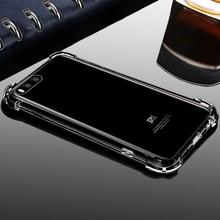 Роскошные ТПУ противоударный протектор оригинальный телефон назад Coque, крышка, чехол для Xiaomi xio Mi 6 Mi 6 кремния силиконовые аксессуары