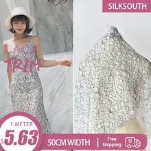 3Meter Hollow Embroidery Tulle Lace Fabric 2018 Handmade Diy Material Garment Cuff Neckline Need Accessories Lace Ribbon