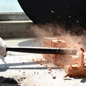 Image 5 - 3 모드 조정 가능한 손전등 크리 어 t6 2000 루멘 토치 라이트 긴 랜턴 사용 18650/aaa 자기 방어 텔레스코픽 스틸 배턴