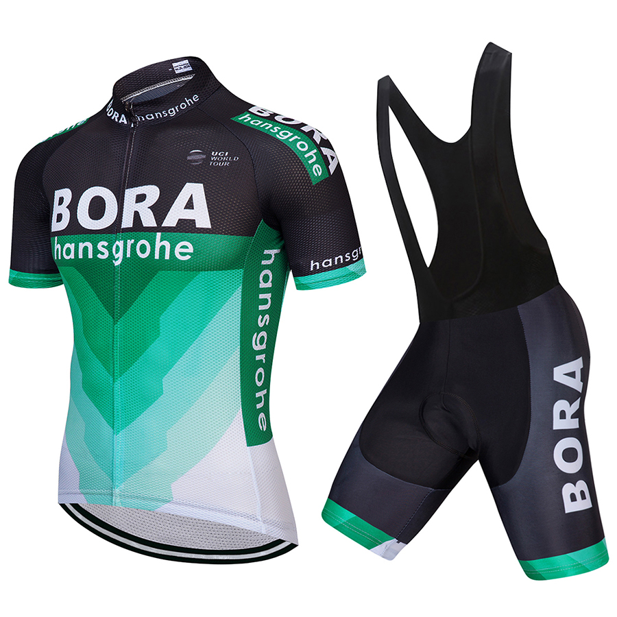 2018 TEAM BORA Cycling jersey gel bike shorts set SOBYCLE Ropa Ciclismo mens summer quick-dry PRO teleyi wear Maillot Culotte