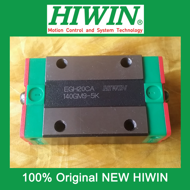 все цены на 1pcs HIWIN EGH20 EGH20CA EG20 New original linear guide block Original HIWIN Linear Guide CNC Parts Stock Good онлайн
