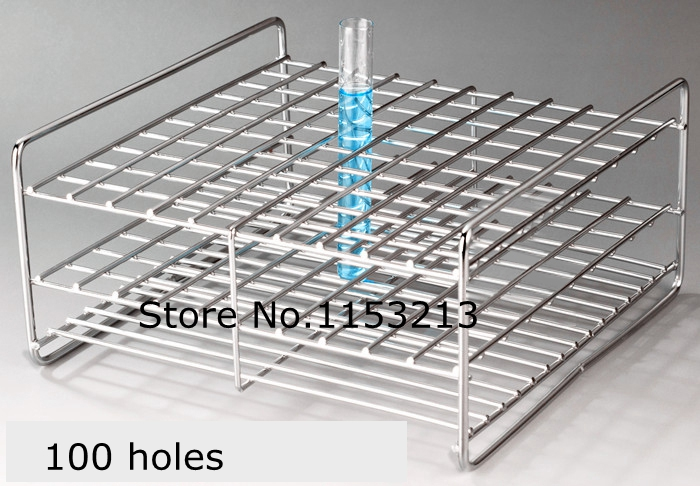 Wire Professional Test Tube Rack Stainless Steel Suitable tube diameter 14.5mm/15mm/16mm/ 100 holes wire professional test tube rack stainless steel suitable tube diameter 26mm 27mm 28mm 29mm 30mm 31 5mm 50 holes