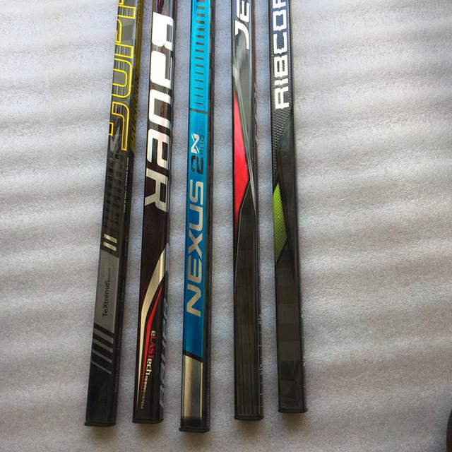 Hockey Stick Wholesale 3pcs/lots Various Model Curve Flex Senior Carbon Ice Hockey Sticks Free Custom Player Name