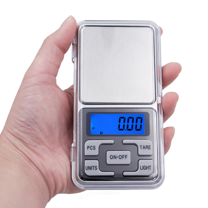 Factory price New 500g x 0.1g Mini Electronic Digital Jewelry weigh Scale Balance Pocket Gram LCD Display With Retail Box 15% mini pocket digital scale 0 01 x 200g silver coin gold jewelry weigh balance lcd