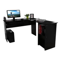 L Shape Stable Computer Table Desk PC Table Home Study Office Table Work Desk Workstation Corner