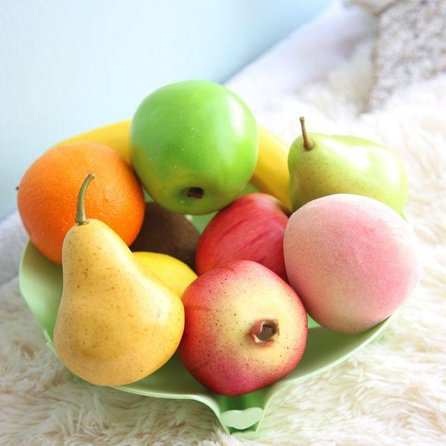 Décoratif Mousse Faux Fruits Apple Leamon Orange Pêche BRICOLAGE on