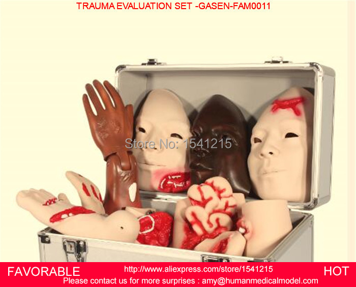 TRAUMA NURSING EVALUATION MODULE NURSING MODEL, ADVANCED TRAUMA ACCESSORIES MODEL,,TRAUMA EVALUATION SET -GASEN-FAM0011 advanced trauma accessories care model evaluation module bix j90 w086
