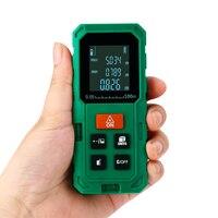 40M 60M 80M 100M Digital Laser Distance Meter Rangefinder Measuring Tester With LCD Backlight Display
