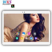 Free shipping 10 inch 2.5D screen tablet pc Android 7.0 octa core RAM 4GB ROM 32/64GB Dual SIM 3G Phone Smart tablets pc FM WIFI