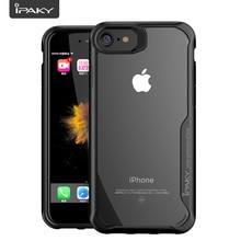IPAKY funda transparente a prueba de golpes para iphone, protector de parachoques a prueba de golpes para iphone SE 2 2020/6 s/6 s/6 plus/7/7plus/8/8plus/X/XR/XS MAX/SE2 S R