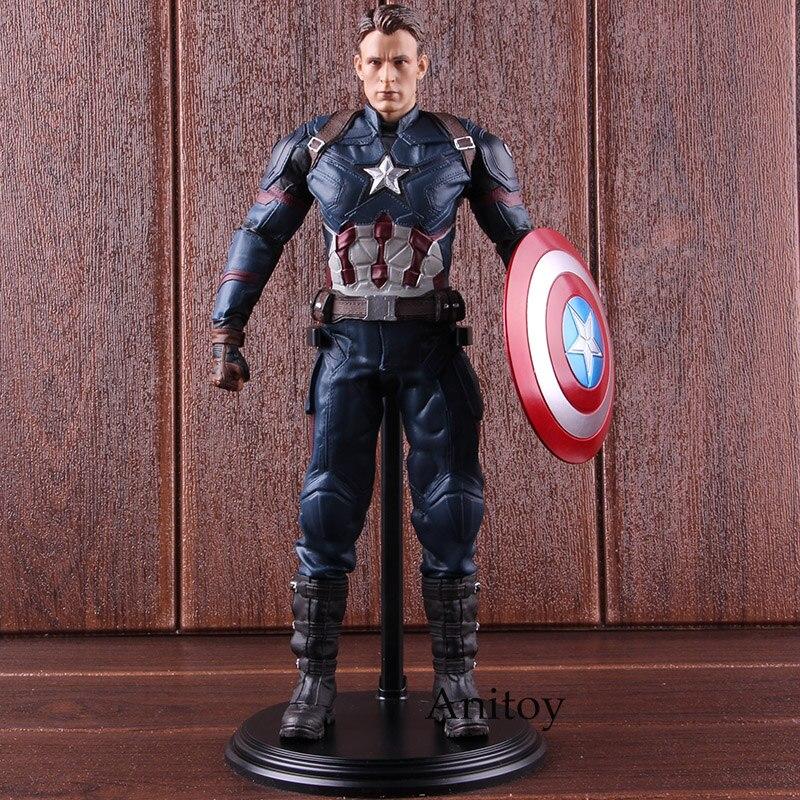 Captain America 3 Action Figures Civil War Captain America Figure PVC Collectible Model Toy