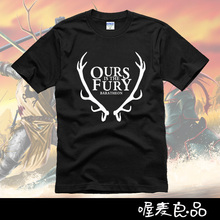 The song of ice and fire Game of Thrones short sleeve T shirt House Barathoen Ours