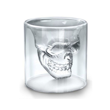 High Quality Creative Skull Translucent Beer Glass Mug Water Cup Coffee Milk Tea Mug Cup Drinkware все цены