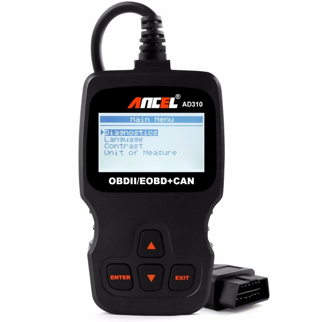 Universal Automotive Scanner Diagnostic Tool AD310 OBD2 Auto Car Diagnostic Scanner Fault Code Reader in Russian [in Stock]