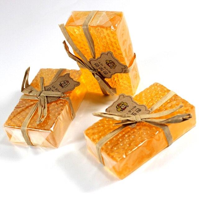 HandMade Honey Soap Whitening Peeling Glutathione Arbutin Kojic acid Soap Skin Care Lover's Gifts 1