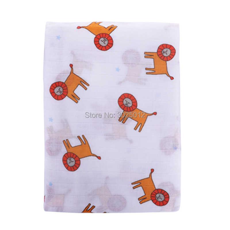 Suave bambú bebé muselina Swaddle manta 70% bambú 30% algodón perfecto bebé ducha regalo recibir manta muselina bebé Swaddle