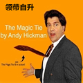 The Magic Tie Magic Trick Deluxe Comedy Pop Up Neck Tie Rising Magic Trick Clown Joke Gag Men Gimmick Prop 81115