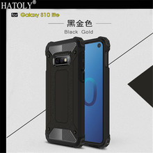 For Samsung Galaxy S10 Lite Case Back Cover PC + TPU Silicone Armor Case For Samsung Galaxy S10 Lite Funda Phone Case Hoesje стоимость