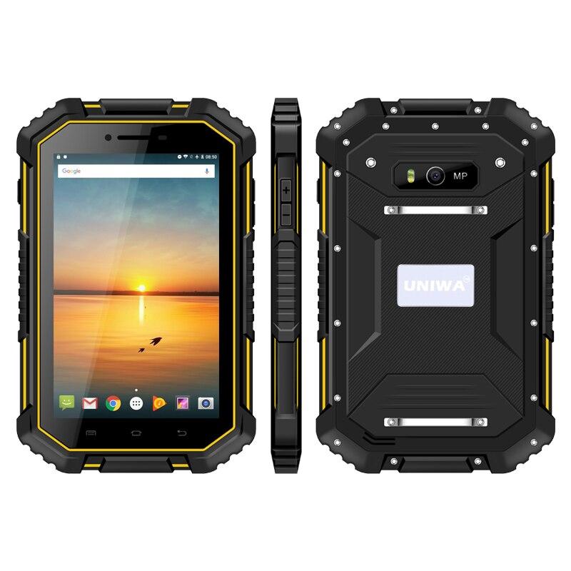 7 pouces tablette 4G/WIFI Android6.0 1280*800 7000mAh 2 GB/16 GB étanche peut appeler NFC extérieur trois-preuve tablette ebook lecteur GPS - 2