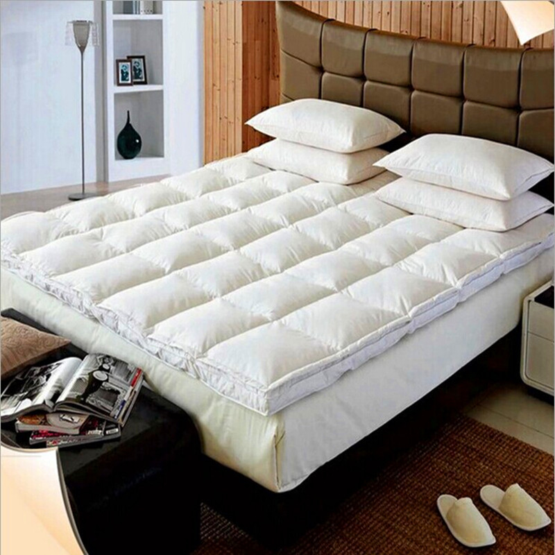 Filling 95% Goose Down Outside Fabric 100%Cotton The thickness of 5cm Mattresses Fivestar Hotel Special-purpose