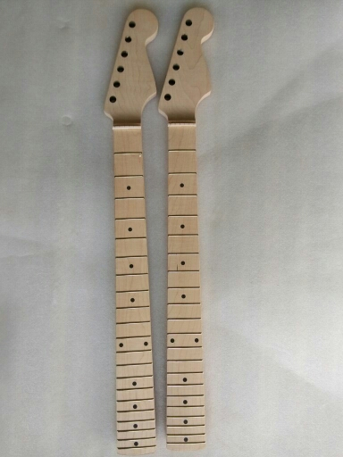1 pcs Electric guitar neck Maple wood Fretboard Truss Rod 21 fret tiger stripes maple neck the truss at the heel high quality electric guitar neck truss rod adjustmrnt 440mm guitar parts wholesale