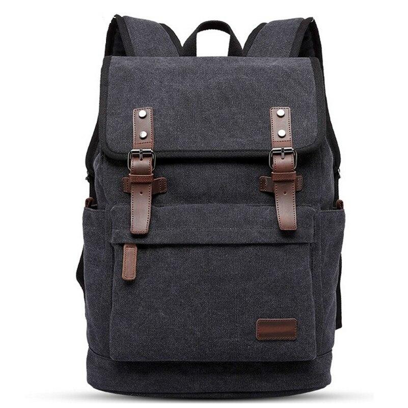 DAYGOS College Student School Bags Wear-resisting Canvas Backpack Men Large Capacity Travel Bag Backpack multi function casual wear resisting nylon 35l computer bag large capacity travel bag school backpacks t0211