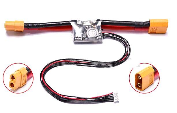 APM/PIX/pixhawk control de vuelo sensor de corriente T enchufe XT60 enchufe galvanómetro fuente es calibrado