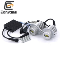 2pcs 40W 80W 8LED Marker Angel Eyes XBD LED Chips 7000K XENON For BMW 3 Series