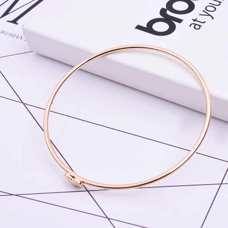 CUTEECO חדש אופנה הטוב ביותר אביזרי קטן לב בברכת צמידי תכשיטים לנשים משלוח חינם תכשיטי קריסטל