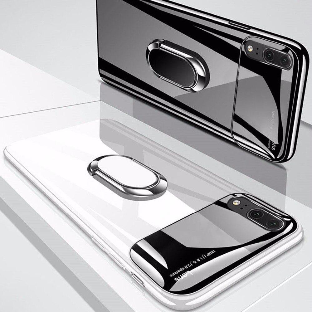 Caso a prueba de choques para Huawei P20 Lite caso Ultra delgada cubierta para Huawei P20 Pro caso duro PC para huawei Honor 10 Coque