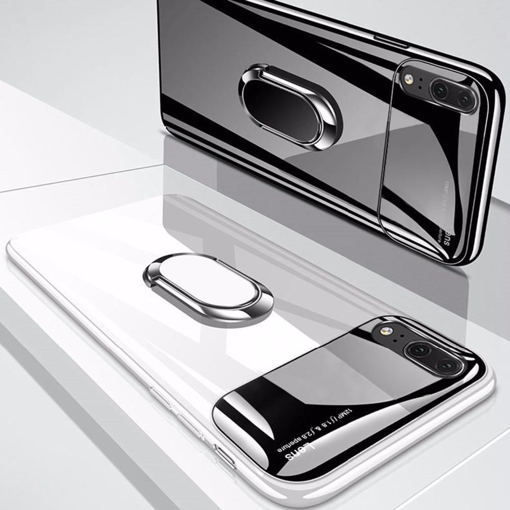 Stoßfest Fall Für Huawei P20 Lite Fall Luxus Ultra Dünne Abdeckung Für Huawei P20 Pro Fall Harte PC Fall Für huawei Ehre 10 Coque