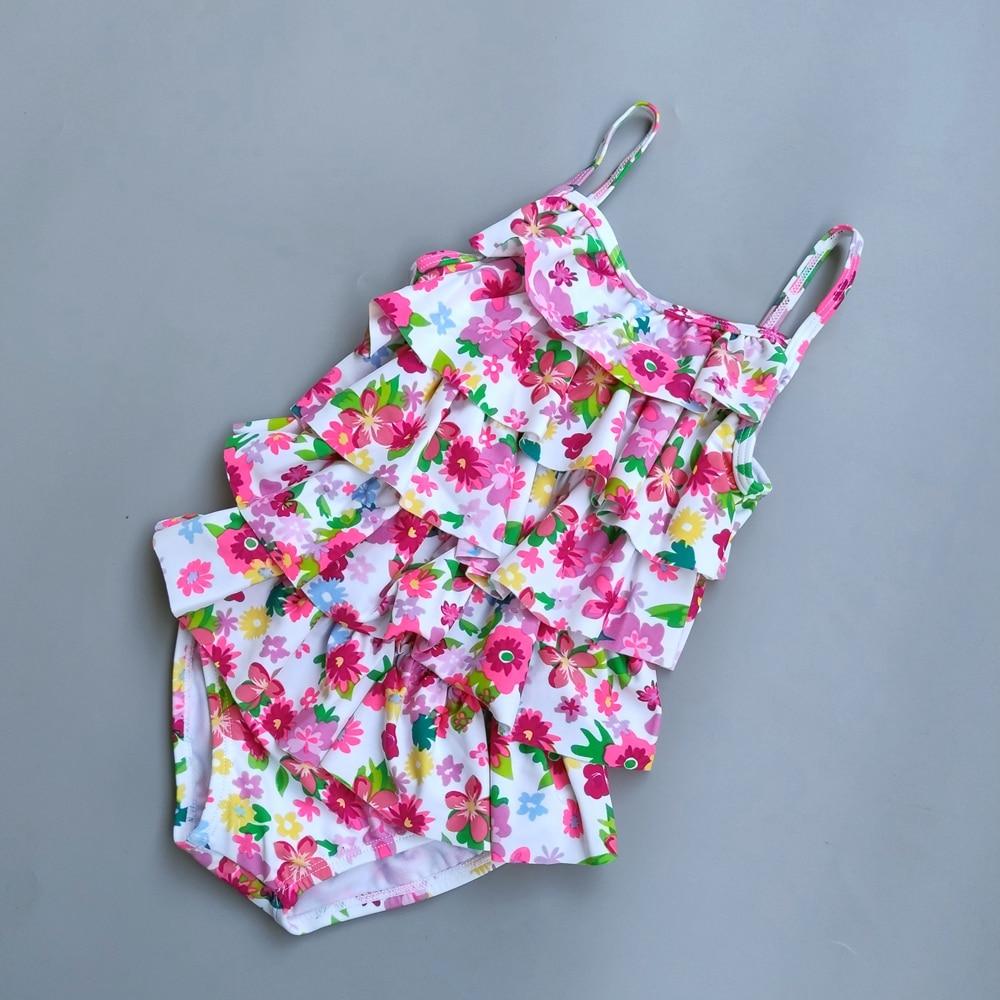 1-3 Jahre Baby Mädchen Badeanzug Uv 50 + Sommer Bebe Ein Stück Bademode Säugling Badeanzug Bademode Schwimmen Anzug Bad Anzug