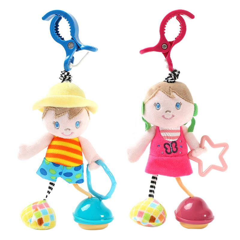 1 Pcs Cute Boy And Girl Baby Doll Toy Infant Bed Cart Backpack Hanging Rattle Doll Vibration Gift Toy1 Pcs Cute Boy And Girl Baby Doll Toy Infant Bed Cart Backpack Hanging Rattle Doll Vibration Gift Toy