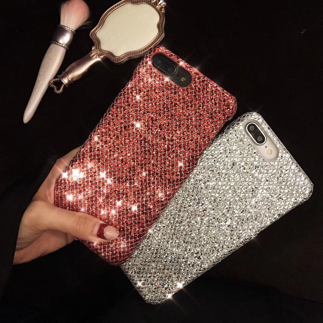 Image 4 - 20PCS Fashion Glittering Case for Vivo X9Plus Phone Case for Vivo x9s Plus Hard Shell for Vivo X20 Plus Back Cover for Vivo X21-in Half-wrapped Cases from Cellphones & Telecommunications