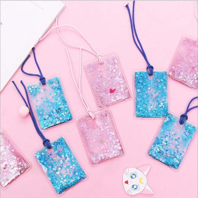 1 Piece Pretty Shining Bling Bookmark School Office Stationery Best Thanksgiving Birthday Gift