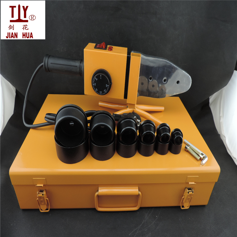 Grade A Temperature controled welding machine of plastic pipes AC 220V 1500W DN 20-63mm PPR pipe welding machine temperature controled ppr pipe welding machine plastic welder ac 220v 1000w 20 63mm plastic pipe welding